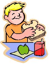 school packed lunch cartoon j